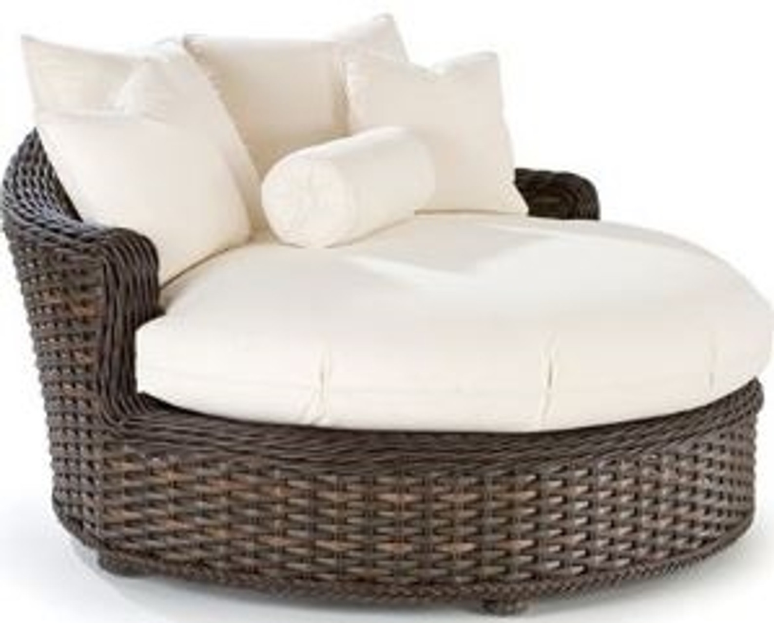 - Lane Venture South Hampton Outdoor Round Chaise Lounge