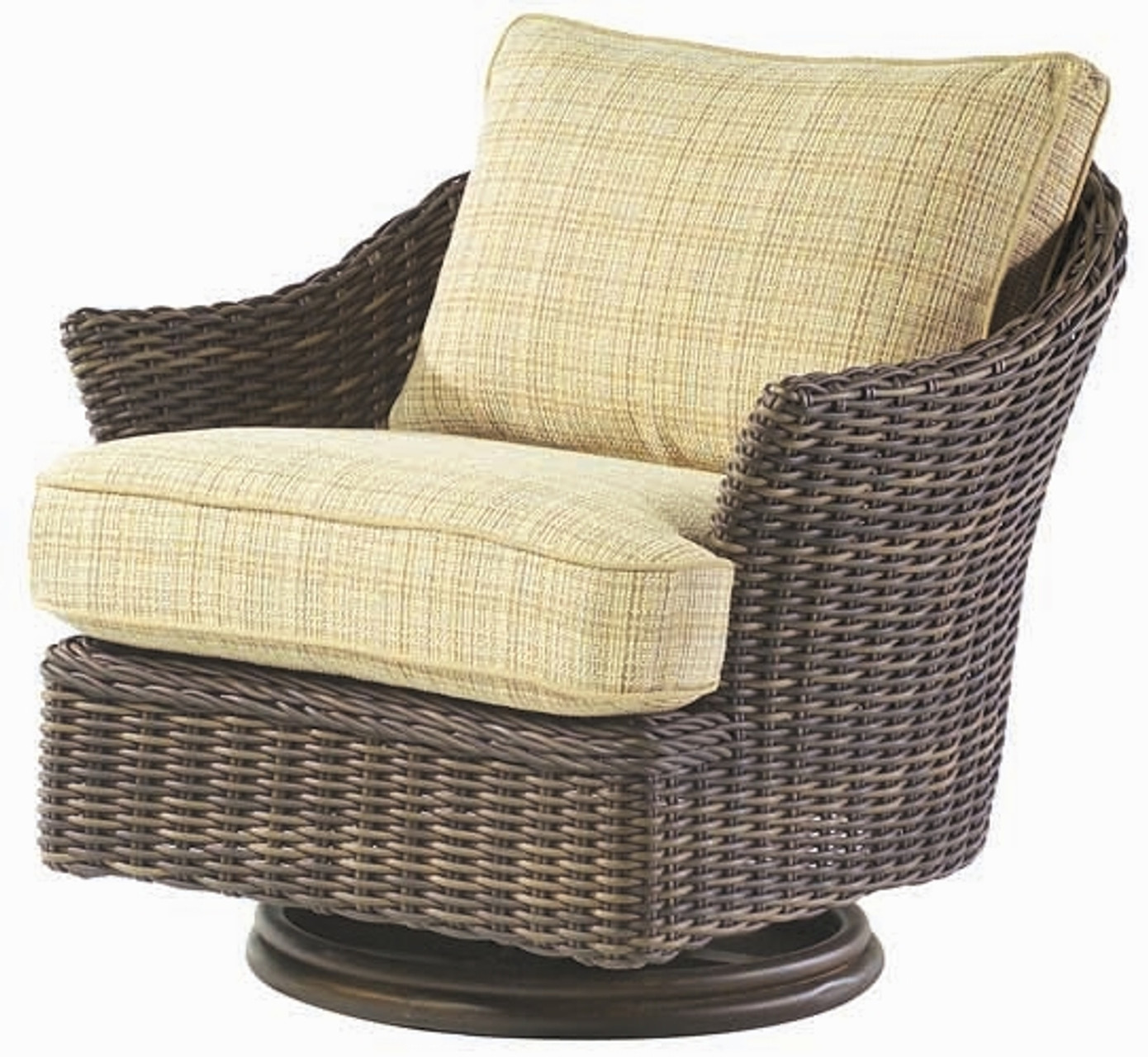 Tremendous Woodard Sonoma Outdoor Swivel Lounge Chair Gmtry Best Dining Table And Chair Ideas Images Gmtryco