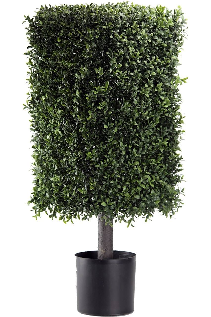 32 Artificial Deluxe Square Boxwood Topiary