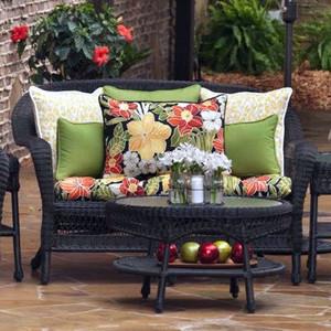 Basic Loveseat Cushions