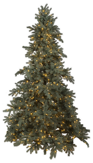 7.5' Blue Spruce Artificial Tree