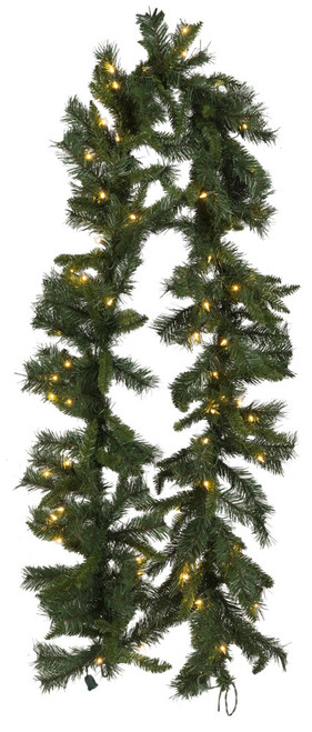 9' Princess Pine Garland