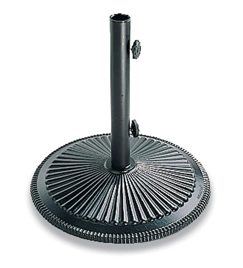 Treasure Garden Classic Cast Iron 50 lb. Umbrella Base in Black Finish