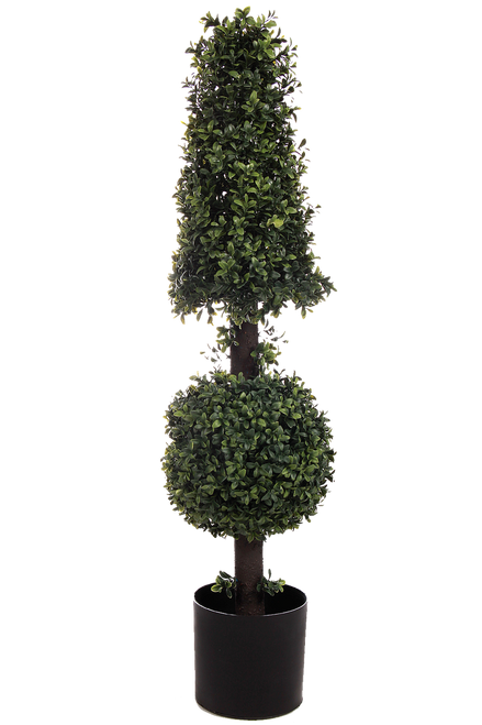 "38"" Boxwood Ball Cone Topiary"
