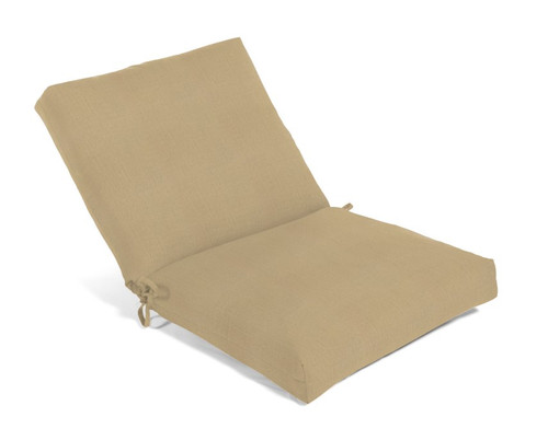 Aluminum Wood Series Mid Back Dining Cushion 3110 (Non-Tufted) (Ship Time 4-6 Weeks)