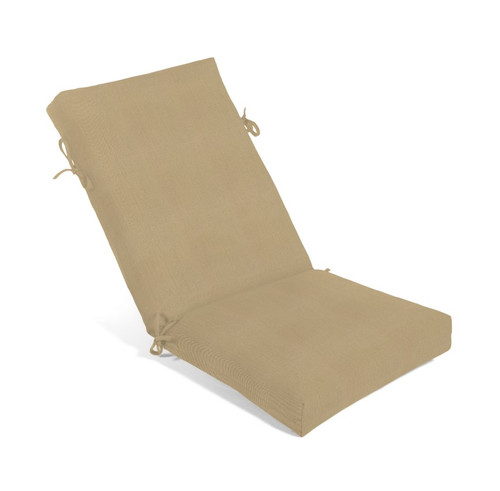 Aluminum Wood Series High Back Recliner Cushion 3125 (Non-Tufted) (Ship Time 4-6 Weeks)