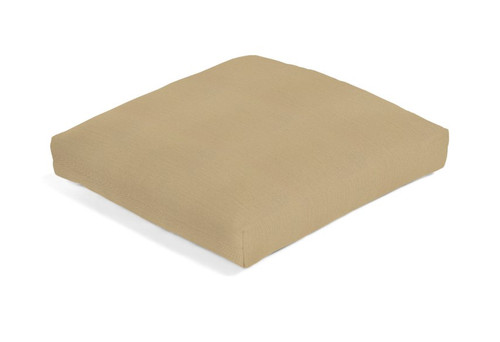"22"" x 20"" Aluminum Wood Series Ottoman Cushion 3108 (Non-Tufted) (Ships 8-10 Weeks)"