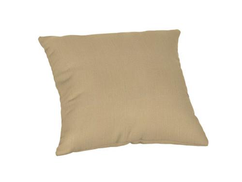 "Sunbrella Custom 20"" Square Throw Pillow"