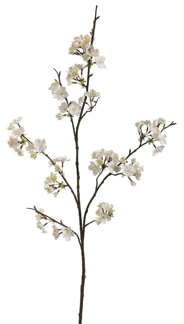 "42"" Cherry Blossom Spray Cream Box of 12"