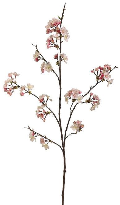 "42"" Cherry Blossom Spray Pink Cream Box of 12"