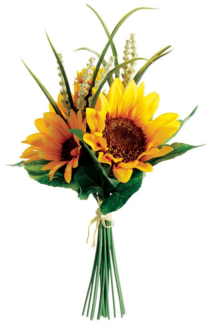 "11"" Sunflower Bouquet Yellow Box of 12"