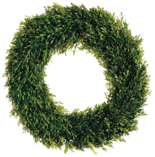 "24"" Tea Leaf Wreath Green Set of 2"