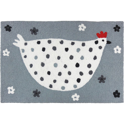 Jellybean Rug Cool Grey Chick
