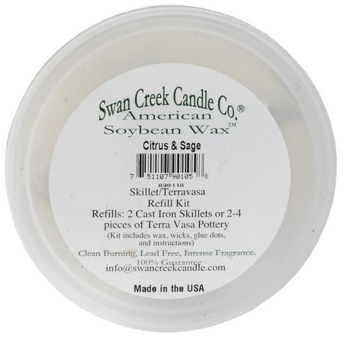 Swan Creek Pottery Refill Kit Citrus & Sage