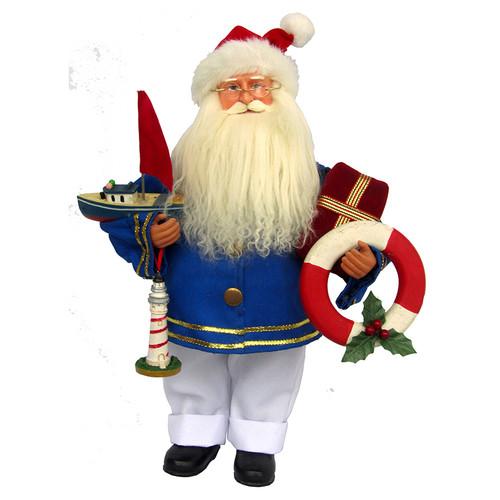 """Santa's Workshop Coastal Santa 15"""""""
