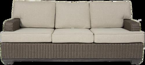 Brookstone Outdoor Sofa w/ Cushions