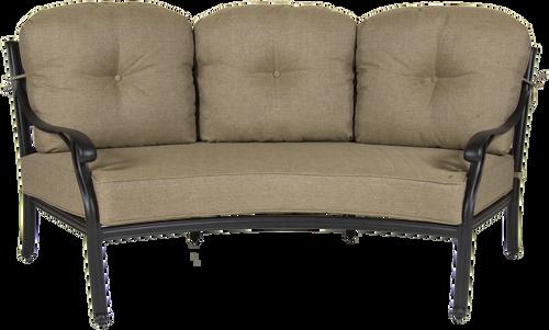 Castle Rock Outdoor Crescent Sofa w/ Cushions