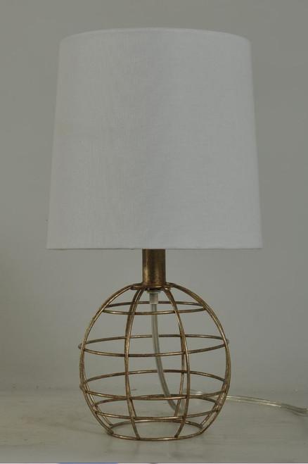 "16.5"" Iron Accent Lamp"