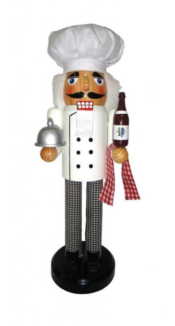 "Santa's Workshop Chef Nutcracker 14"""