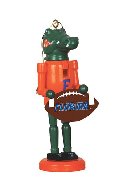 Santa's Workshop Florida Football Nutcracker Ornament
