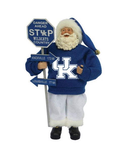 "12"" Santa's Workshop Kentucky Country Santa"