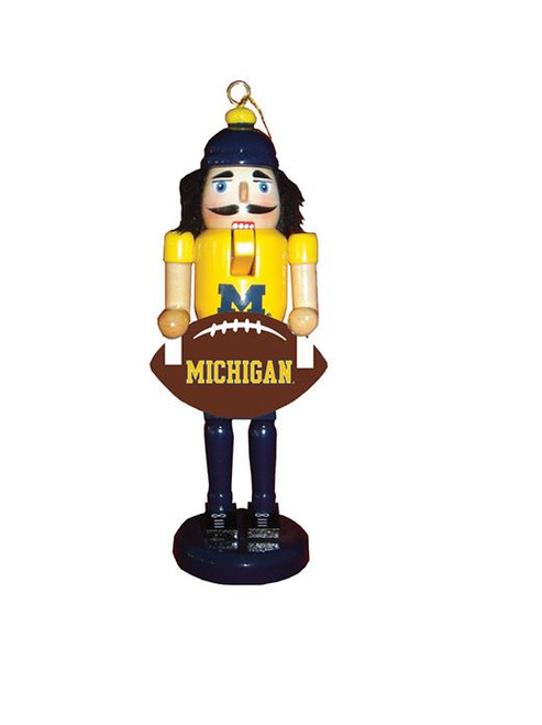 "6"" Michigan Football Nutcracker Ornament"