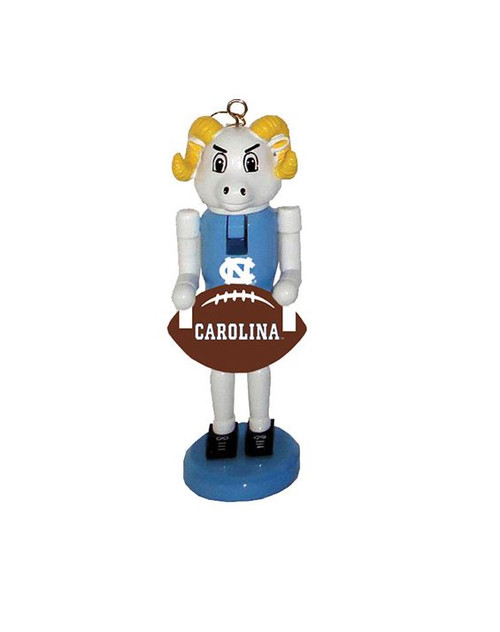 "6"" North Carolina Football Nutcracker Ornament"