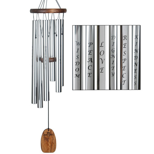 "Woodstock Windchimes ""Virtues"" 25"""