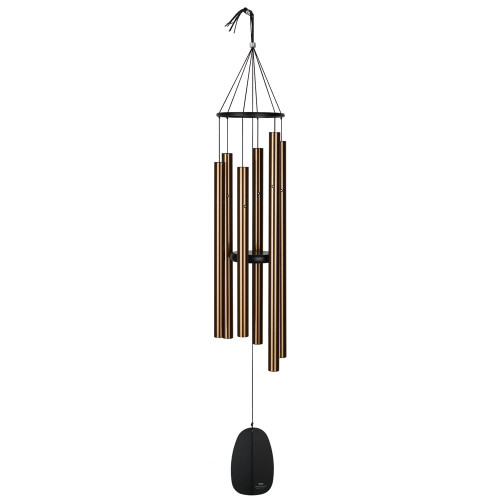 Woodstock Windchimes Bells of Paradise Bronze 44""