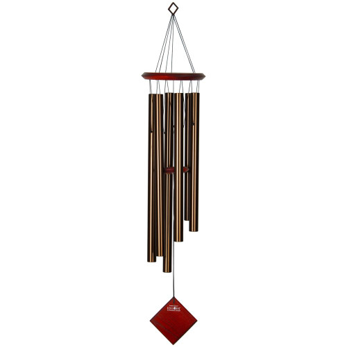 Woodstock Windchimes Chimes of Earth Bronze 37""