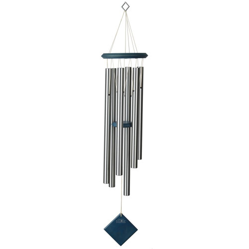 Woodstock Windchimes Chimes of Earth Blue Wash 37""