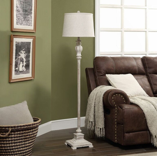 """Crestview Resin Floor Lamp 62.5"""""""