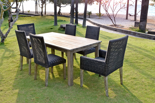 Erwin and Sons Canberra 7 pc Dining Teak Dining Set