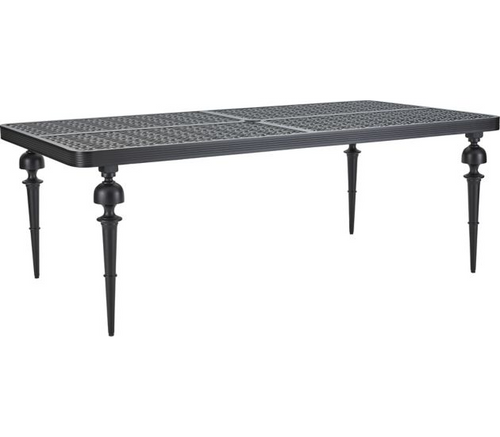 Lane Venture Hemingway Plantation Outdoor Rectangular Dining Table