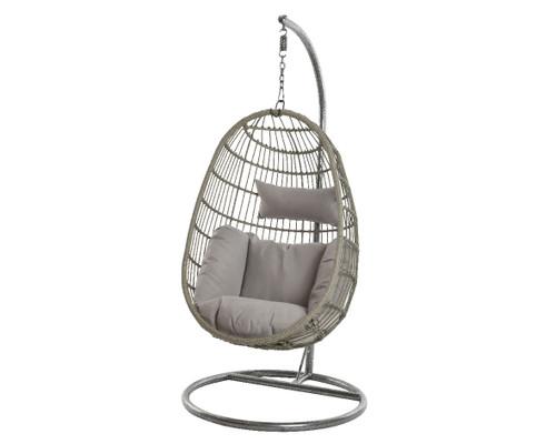 Corsica Hanging Chair Grey