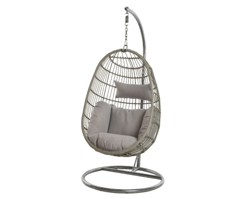 Corsica Hanging Chair Grey