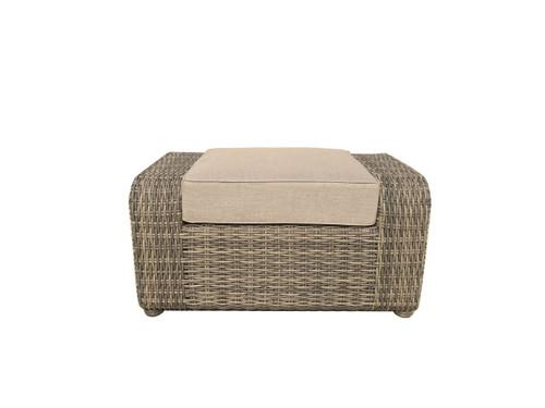 Brunswick Outdoor Ottoman with Cushion