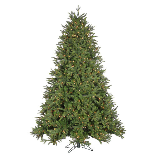 7.5' Deluxe Trinity Pine Prelit LED Artificial Christmas Tree