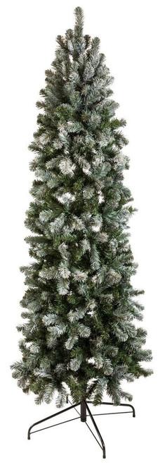 6' Slim Allegheny Pine Unlit Christmas Tree Unlit