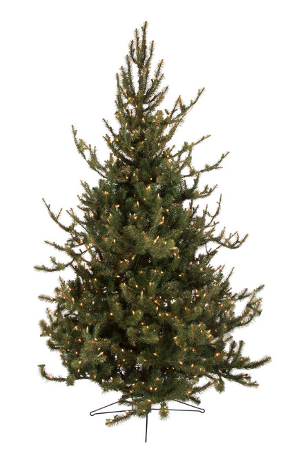 7.5' Rocky Mountain Spruce Artificial Christmas Tree with AlwaysLit Technology