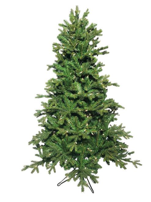 4.5' Jamestown Fir Prelit Artificial Christmas Tree
