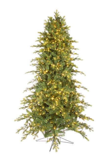 7.5' ForeverTree Deluxe Downswept Slim Douglas Fir EasyLite with Remote