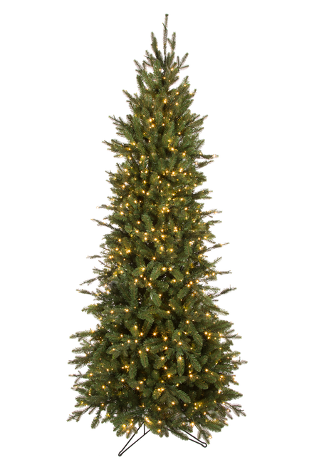 12' ForeverTree Slim Canadian Balsam Fir EasyLite with Remote