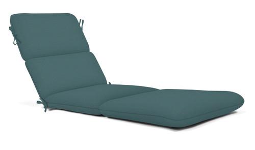 """Quick Ship Sunbrella 74"""" Chaise Cushion Cast Lagoon"""