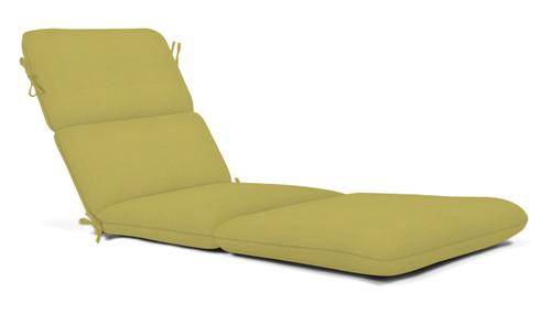 """Quick Ship Sunbrella 74"""" Chaise Cushion Canvas Linden"""