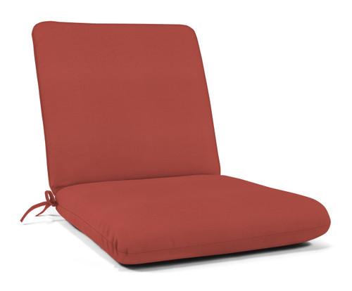 """Quick Ship Sunbrella 44"""" x 22"""" Club Chair Cushion Canvas Henna"""