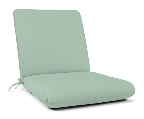 "Quick Ship Sunbrella 44"" x 22"" Club Chair Cushion Canvas Spa"
