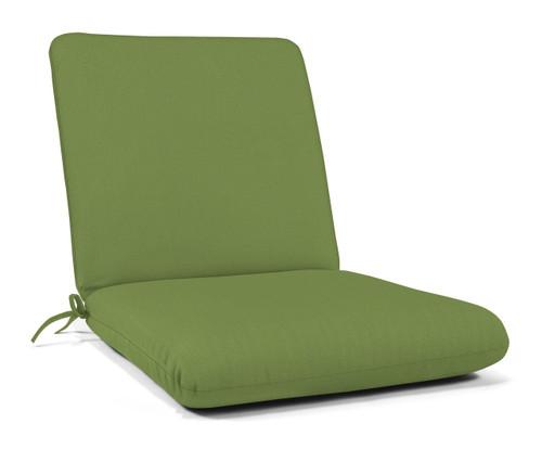 """Quick Ship Sunbrella 44"""" x 22"""" Club Chair Cushion Spectrum Cilantro"""