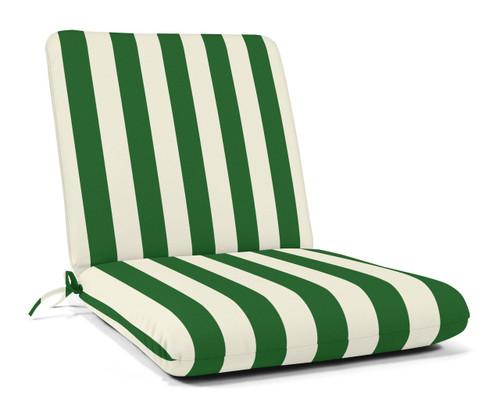 """Quick Ship Sunbrella 44"""" x 22"""" Club Chair Cushion Maxim Forest Green"""