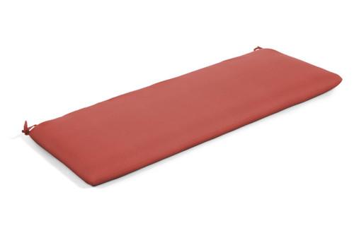 """Quick Ship Sunbrella 48"""" Bench Cushion Canvas Henna"""